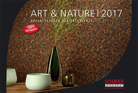 kollektion art nature 2017 bietet edle akzentw nde sch fer tapeten. Black Bedroom Furniture Sets. Home Design Ideas